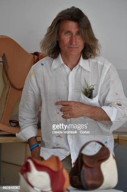 Artist Stefano Conticelli during the Longines Grand Prix Athina Onassis Horse Show on June 3 2017 in St Tropez France