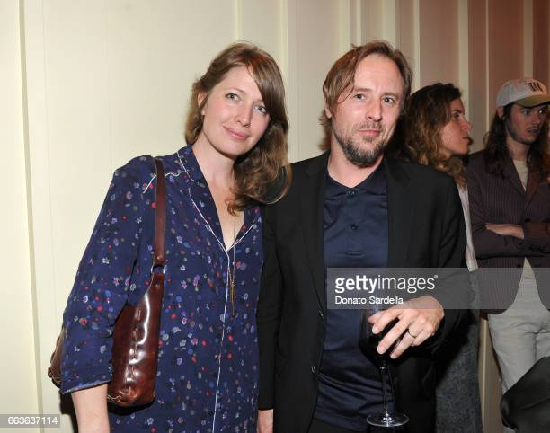 Artist Sterling Ruby and guest attend MOCA's Leadership Circle and Members' Opening of 'Carl Andre Sculpture as Place 19582010' and 'Arthur Jafa Love...