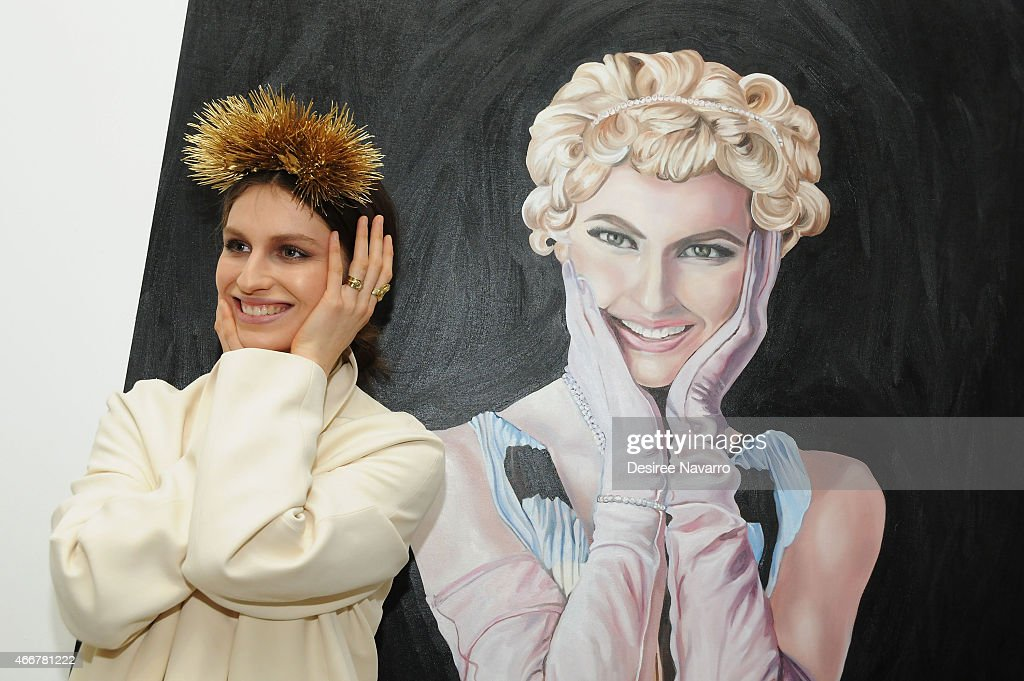 Artist Tali Lennox attends Tali Lennox Exhibition Opening Reception at Catherine Ahnell Gallery on March 18 2015 in New York City