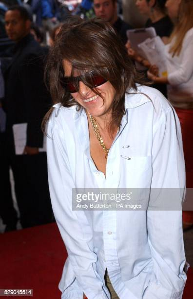 Artist Tracey Emin arrives for the private view of photolondon the first annual art fair in the UK dedicated to photography at The Royal Academy in...