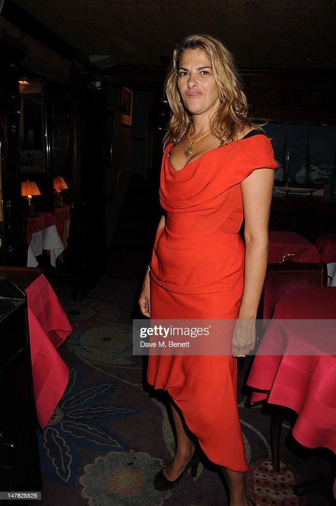 Artist Tracey Emin celebrates her 49th Birthday at Annabels Night Club on July 3, 2012 in London, England.