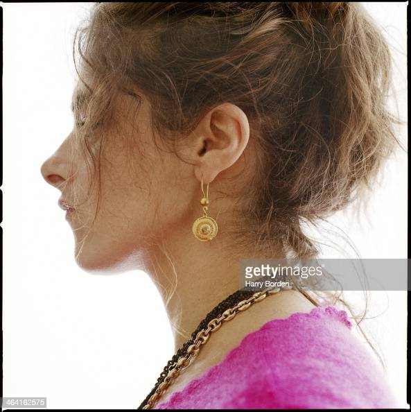 Artist Tracey Emin is photographed for the Guardian on March 3 1997 in London England