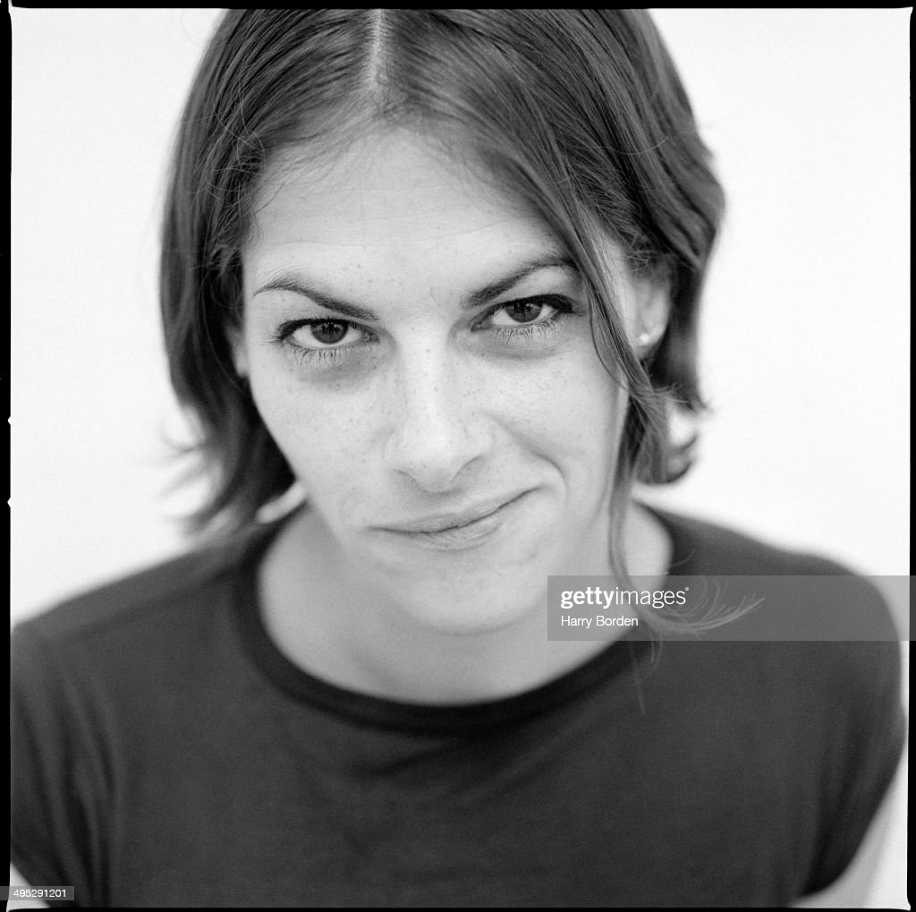 Artist Tracey Emin is photographed on March 23, 1996 in London, England.