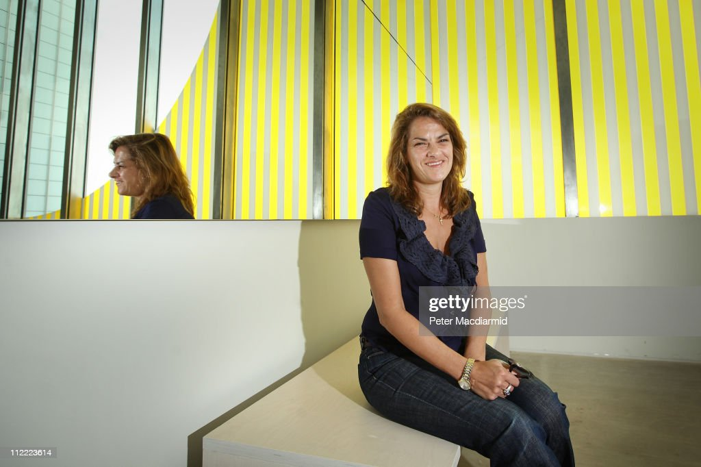 Artist Tracey Emin poses for photographs at the Turner Contemporary gallery on April 15 2011 in Margate England The Gallery which opens to the public...