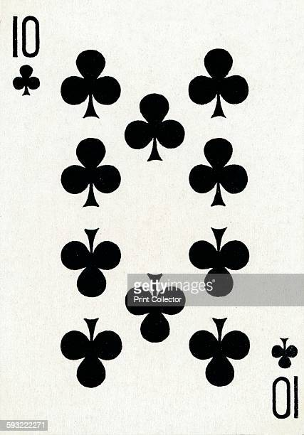 Artist Unknown 10 of Clubs from a deck of Goodall Son Ltd playing cards circa 1940 [Goodall Son Ltd London circa 1940]