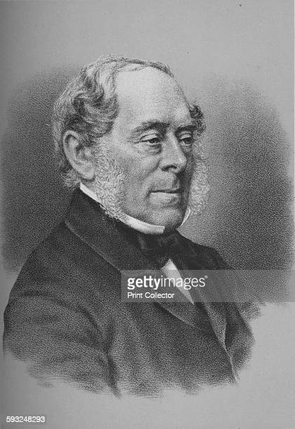Artist Unknown George William Frederick Villiers 4th Earl of Clarendon British diplomat and politician circa 1864 From William Ewart Gladstone and...