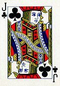 Artist Unknown Jack of Clubs from a deck of Goodall Son Ltd playing cards circa 1940 [Goodall Son Ltd London circa 1940]