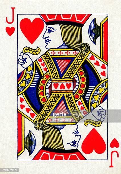 Artist Unknown Jack of Hearts from a deck of Goodall Son Ltd playing cards circa 1940 [Goodall Son Ltd London circa 1940]