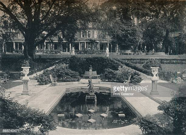 Artist Unknown 'Lily Basin and West Front The Hill Hampstead Heath' circa 1900 Inverforth House is a large detached house at North End Way on the...