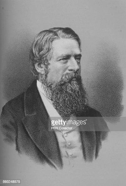 Artist Unknown Sir Stafford Henry Northcote British politician 1870s From William Ewart Gladstone and His Contemporaries Vol III 18521860 by Thomas...