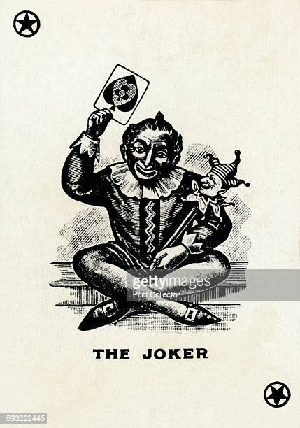 Artist Unknown The Joker from a deck of Goodall Son Ltd playing cards circa 1940 [Goodall Son Ltd London circa 1940]