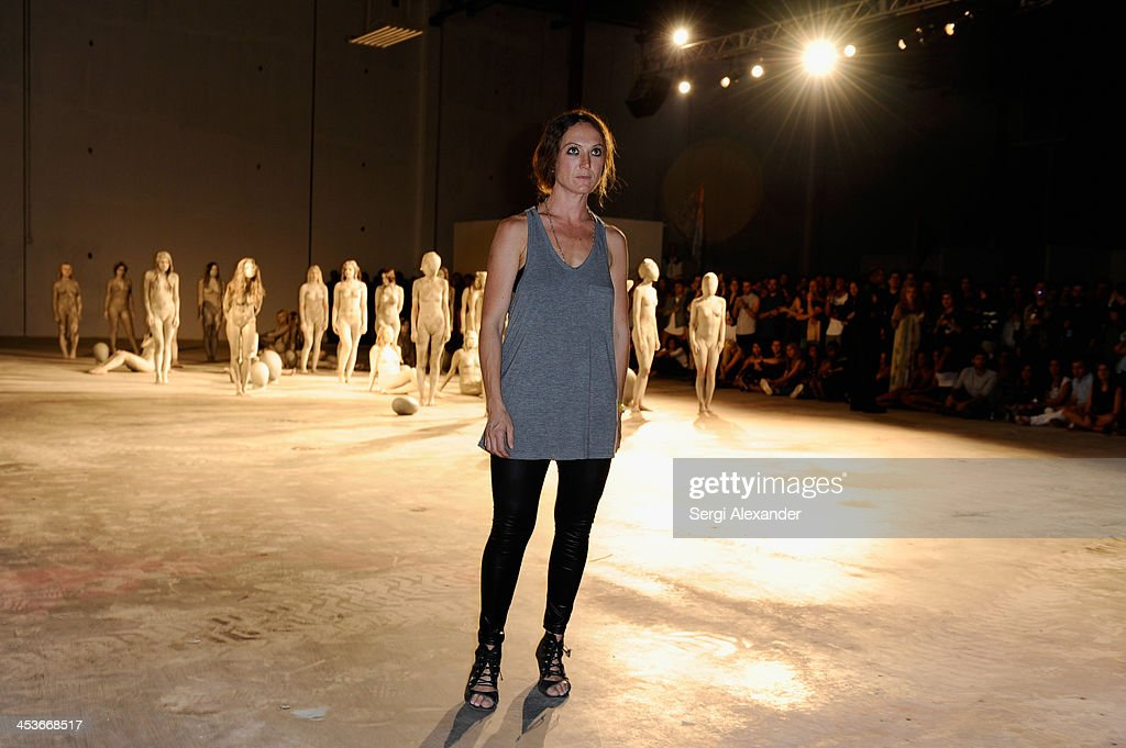 Artist <a gi-track='captionPersonalityLinkClicked' href=/galleries/search?phrase=Vanessa+Beecroft&family=editorial&specificpeople=2098135 ng-click='$event.stopPropagation()'>Vanessa Beecroft</a> attends Flaunt Magazine and Wildfox Present a performance by <a gi-track='captionPersonalityLinkClicked' href=/galleries/search?phrase=Vanessa+Beecroft&family=editorial&specificpeople=2098135 ng-click='$event.stopPropagation()'>Vanessa Beecroft</a> hosted by Jimmy Sommers and Balthazar Getty for 'Affordable Care' at Mana Wynwood on December 4, 2013 in Miami, United States.