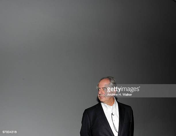 Artist William Kentridge attends the opening night reception for 'William Kentridge Five Themes' and 'Projects 92 Yin Xiuzhen' at The Museum of...