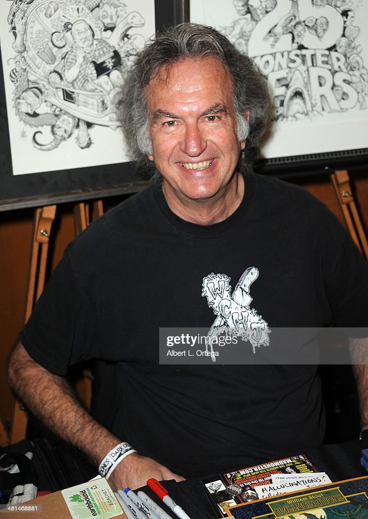 Artist William Stout attends the 2014 Monsterpalooza: The Art Of Monsters Convention held at Marriott Airport Hotel on March 29, 2014 in Burbank, California.