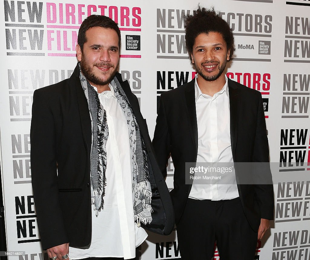 Artist Yaze and director Rachid Djaidani attends the New Directors/New Films 2013 Opening Night screening of 'Blue Caprice' at the Museum of Modern Art on March 20, 2013 in New York City.