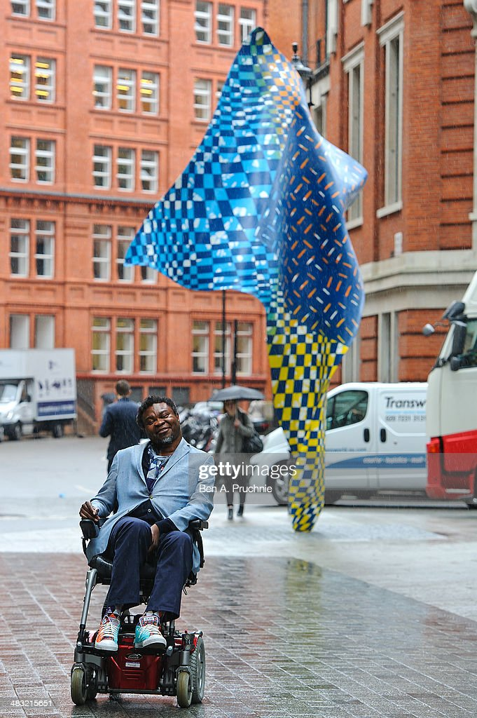 Artist Yinka Shonibare MBE Unveils New 'Wind Sculpture'