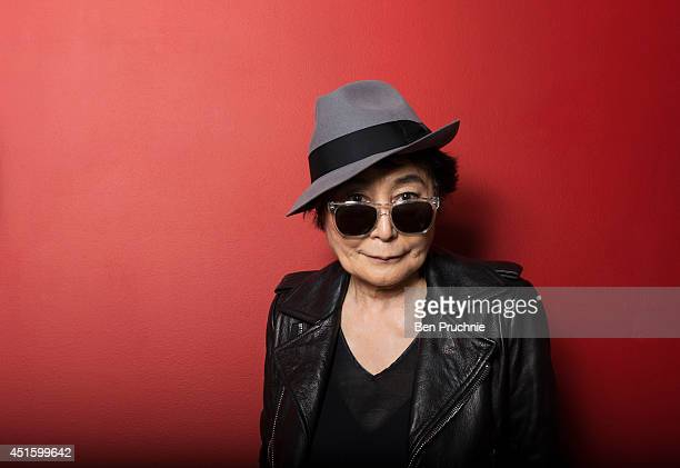 Artist Yoko Ono is photographed on June 25 2013 in London England