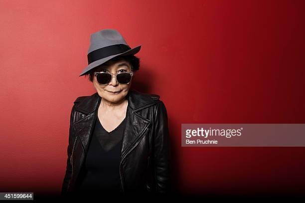 Artist Yoko Ono is photographed on June 25 2013 in London England