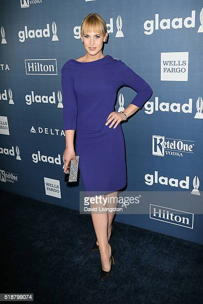 Artist Zackary Drucker arrives at the 27th Annual GLAAD Media Awards at The Beverly Hilton Hotel on April 2 2016 in Beverly Hills California