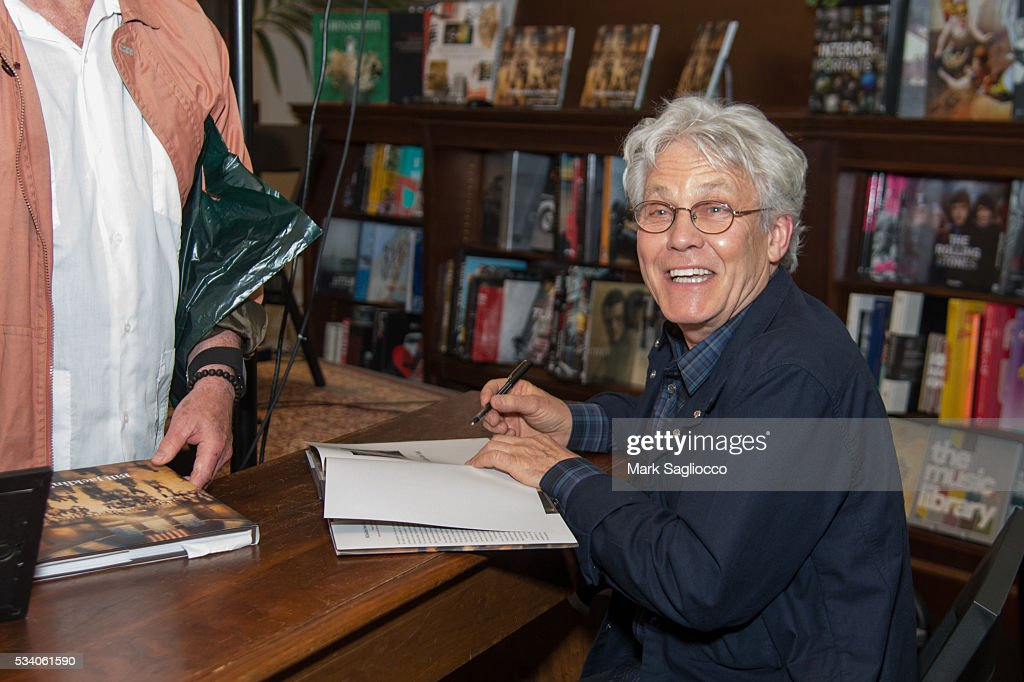 Artist/Author Bill Jacklin attends the Bill Jacklin Book Launch Party at Rizzoli Bookstore on May 24, 2016 in New York City.