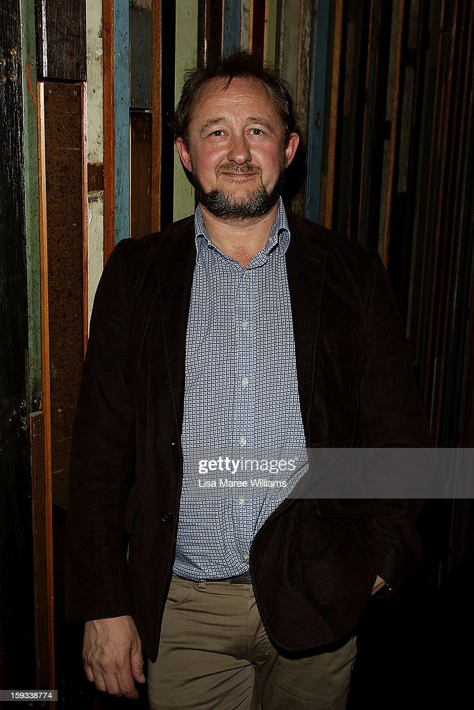 Artistic Director <a gi-track='captionPersonalityLinkClicked' href=/galleries/search?phrase=Andrew+Upton&family=editorial&specificpeople=213980 ng-click='$event.stopPropagation()'>Andrew Upton</a> attends the opening night of 'The Secret River' at the Sydney Theatre Company on January 12, 2013 in Sydney, Australia.
