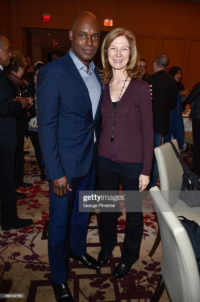 Artistic Director Cameron Bailey and Academy of Motion Picture Arts and Sciences CEO Dawn Hudson attends the Ebert Tribute Lunch in honour of Ava...
