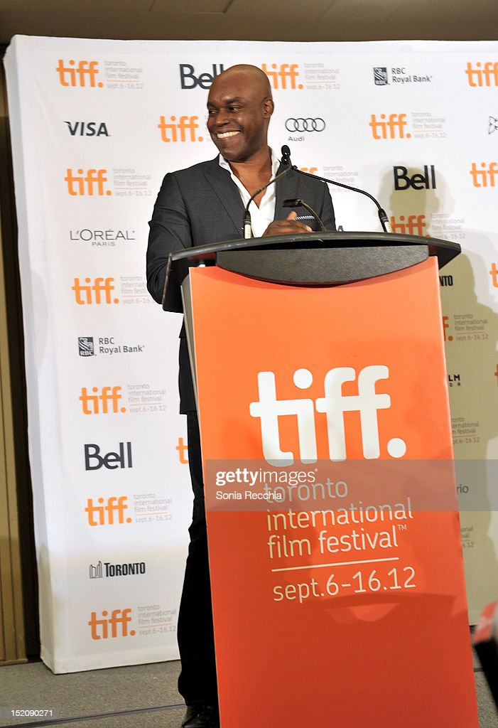 Artistic Director Cameron Bailey speaks at the 37th Toronto International Film Festival Award Winner Ceremony held at the InterContinental Toronto Center Hotel on September 16, 2012 in Toronto, Canada.