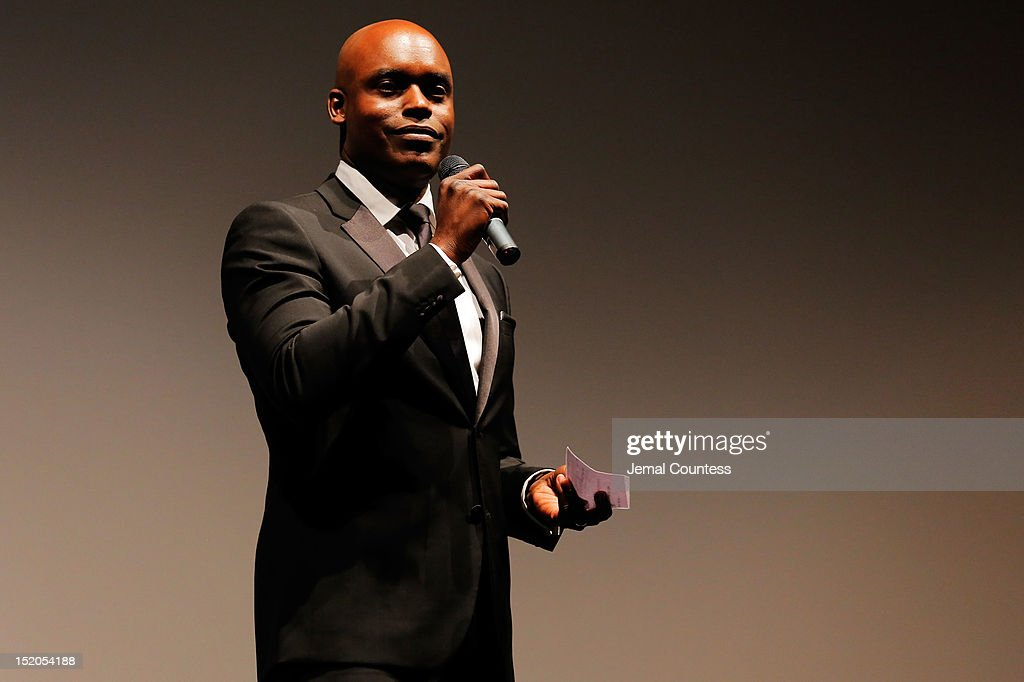 Artistic Director Cameron Bailey speaks at the 'Bad 25' Premiere during the 2012 Toronto International Film Festival held at the Ryerson Theatre on September 15, 2012 in Toronto, Canada.