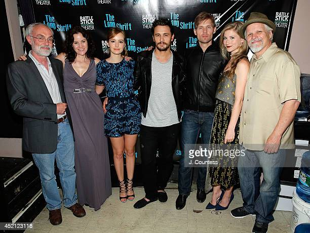 Artistic director David Van Asselt actress Ally Sheedy actress Ahna O'Reilly director James Franco actors Scott Haze Allie Gallerani and Brian Lally...