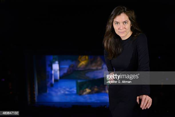 Artistic director Diane Paulus is photographed for Boston Globe on April 8 2015 in New York City PUBLISHED IMAGE