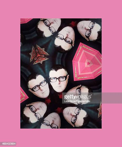 Artistic director for Lanvin Alber Elbaz is photographed for Madame Figaro on December 30 2014 in Paris France PUBLISHED IMAGE CREDIT MUST READ Lisa...