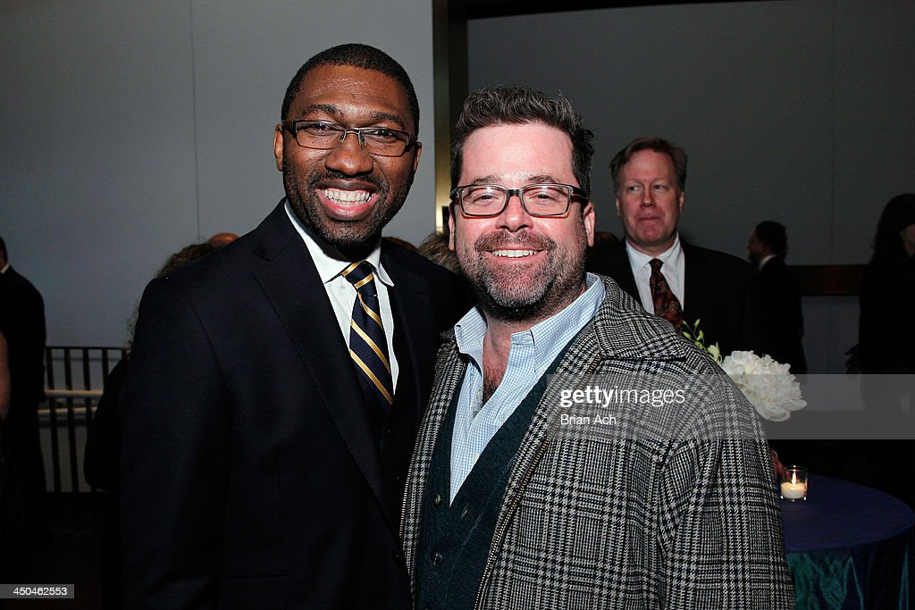 Artistic Director Kwame Kwei- Armah (L) attends The 2013 Steinberg Playwright 'Mimi' Awards presented by The Harold and Mimi Steinberg Charitable Trust at Lincoln Center Theater on November 18, 2013 in New York City.