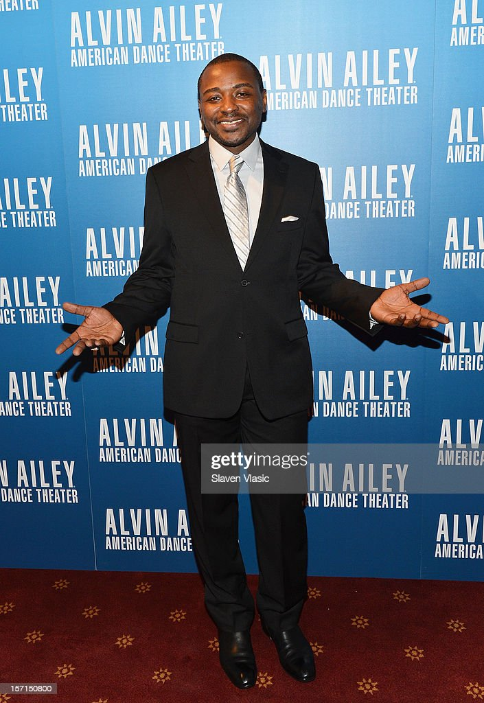Artistic Director of Alvin Ailey American Dance Theater Robert Battle attends the Alvin Ailey American Dance Theater Opening Night Gala at New York City Center on November 28, 2012 in New York City.