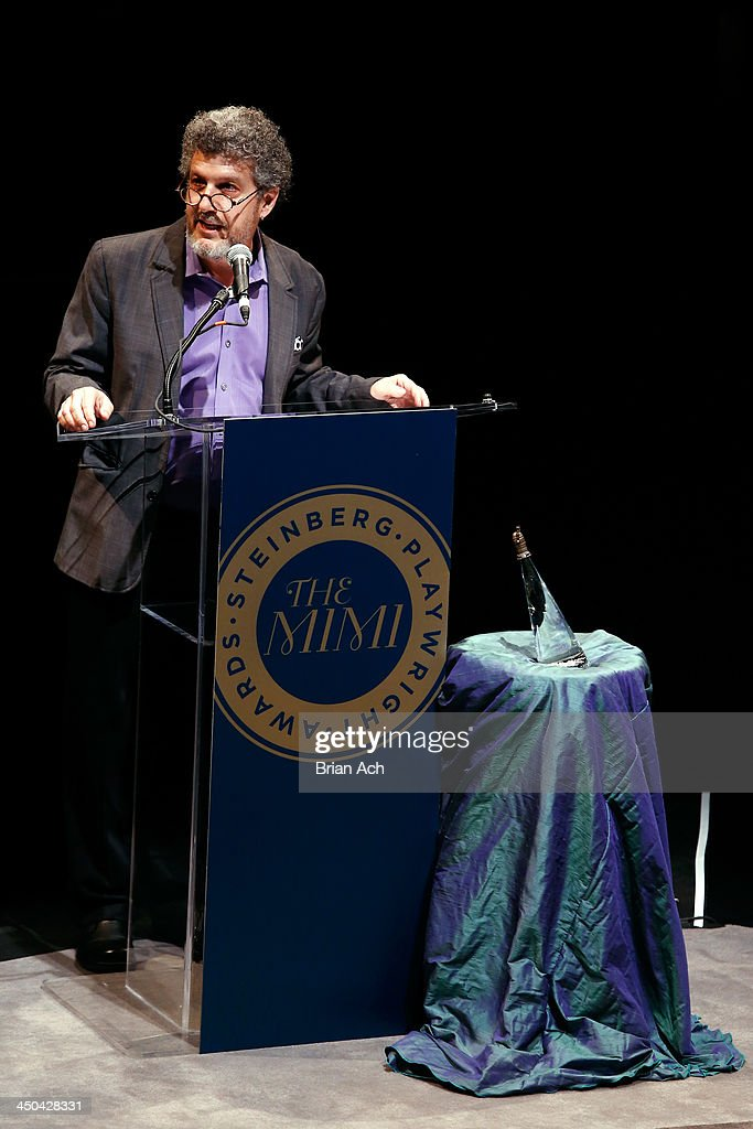 Artistic Director Todd London speaks onstage at The 2013 Steinberg Playwright 'Mimi' Awards presented by The Harold and Mimi Steinberg Charitable Trust at Lincoln Center Theater on November 18, 2013 in New York City.