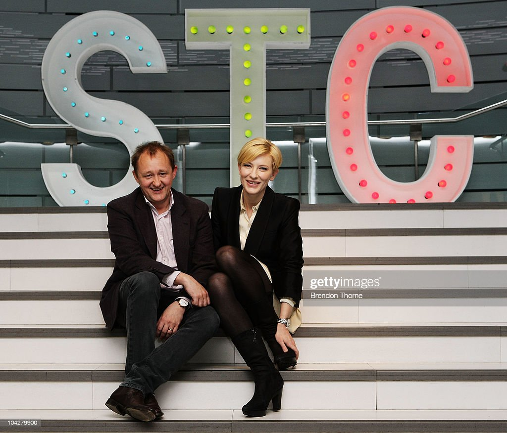 Artistic Directors <a gi-track='captionPersonalityLinkClicked' href=/galleries/search?phrase=Cate+Blanchett&family=editorial&specificpeople=201621 ng-click='$event.stopPropagation()'>Cate Blanchett</a> and <a gi-track='captionPersonalityLinkClicked' href=/galleries/search?phrase=Andrew+Upton&family=editorial&specificpeople=213980 ng-click='$event.stopPropagation()'>Andrew Upton</a> pose during a photo call at the Sydney Theatre Company's 2011 main stage launch at Sydney Theatre Company on September 20, 2010 in Sydney, Australia.