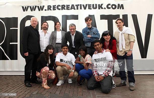 Artists and Directors Michael CraigMartin Mat Collishaw Director of South London Gallery Margot Heller Managing Director of Louis Vuitton UK Tom...