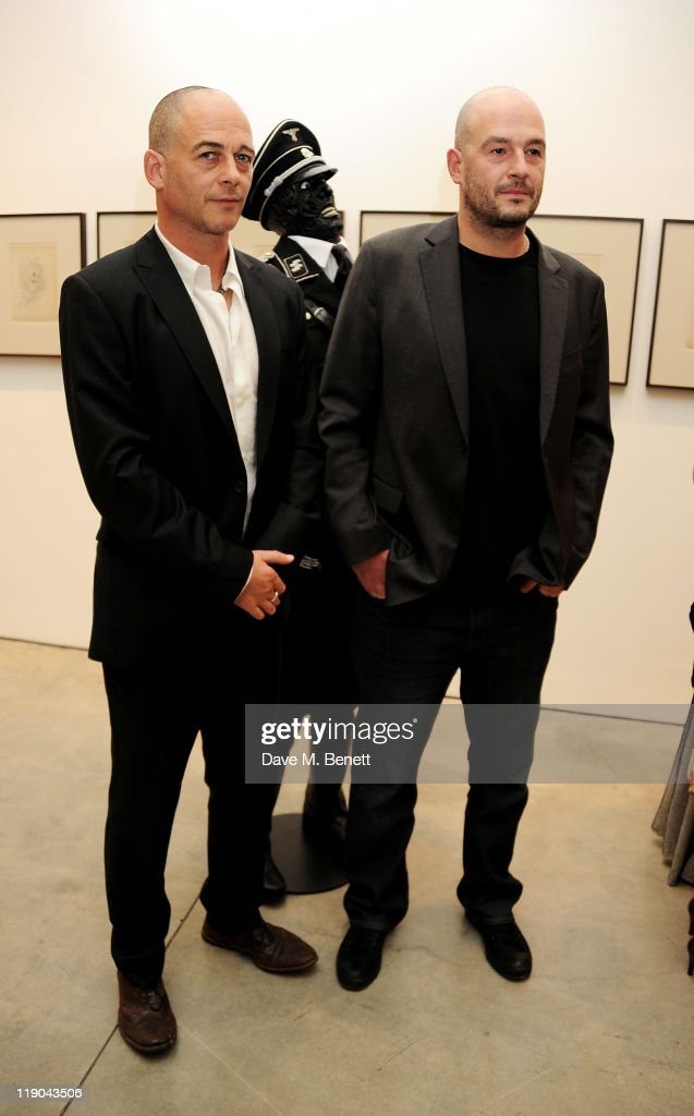 'Jake Or Dinos Chapman' Exhibtion At White Cube - Private View