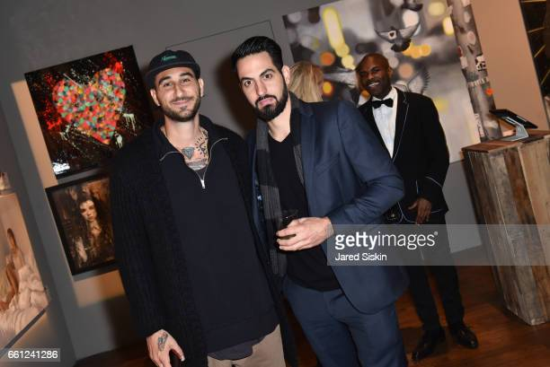 Artists Flore and Aiiroh attend the First Annual Medair Gala at Stephan Weiss Studio on March 30 2017 in New York City