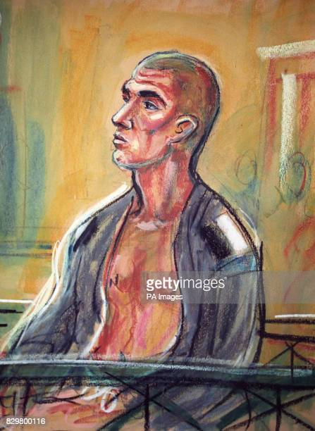 Artist's impression of James Jarrett 'Fan Man' Miller at Bow Street Magistrates' Court The 30yearold American is facing charges after landing half...