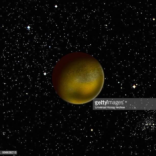 Artist's impression of the dwarf planet Pluto 2015