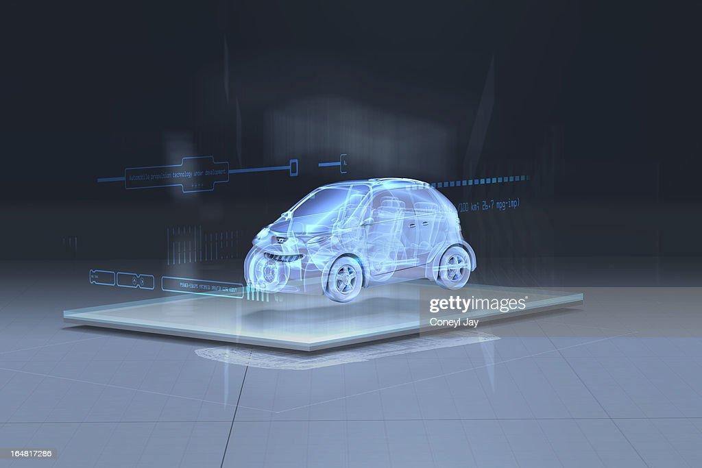 Artists interpretation of augmented reality