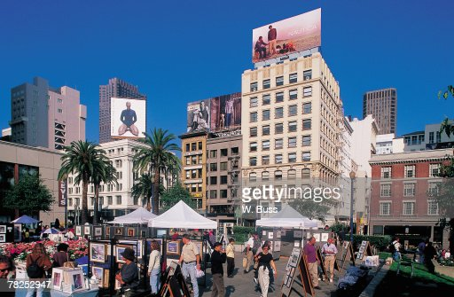 Artists' market , San Francisco , California , USA