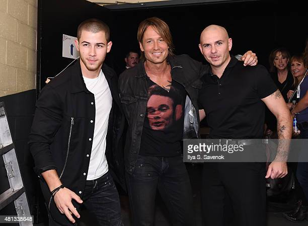 Artists Nick Jonas Keith Urban and Pitbull joined forces for a oneofakind concert experience in New York City 'PlentiTogether LIVE' bringing to life...