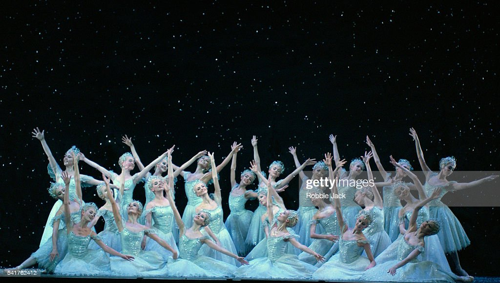 Artists of the Royal Ballet in the production 'The Nutcracker'. Composer: Pyotr Ilyich Tchaikovsky.