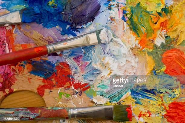La palette des artistes Peinture à l'huile