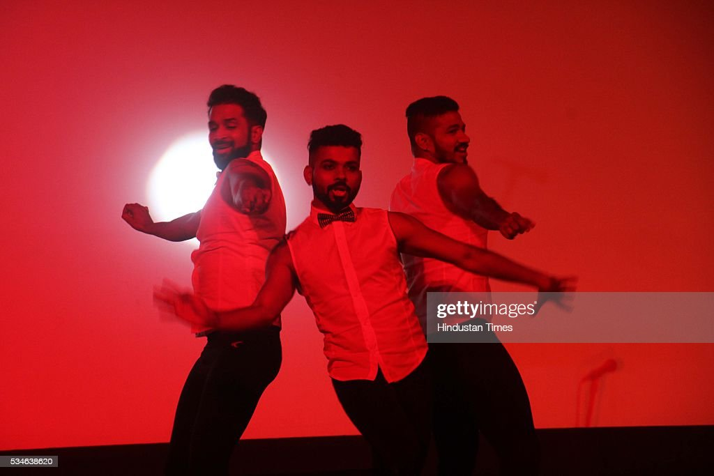 Artists perform during the opening ceremony of the 7th Kashish Mumbai International Queer Film Festival inaugurated by Hollywood actor Ian McKellen, at Liberty Cinema, Marine Lines, on May 25, 2016 in Mumbai, India. During a ceremony, McKellen said, 'I just want to say how happy I am to be at Kashish; it's my first visit to Mumbai. I made many friends already and I hope this evening to make many more. I've come to Mumbai to celebrate Shakespeare and to celebrate the connections between the United Kingdom and your country. And I've also come to support those who want to get rid of section 377 (which criminalizes homosexuality).'
