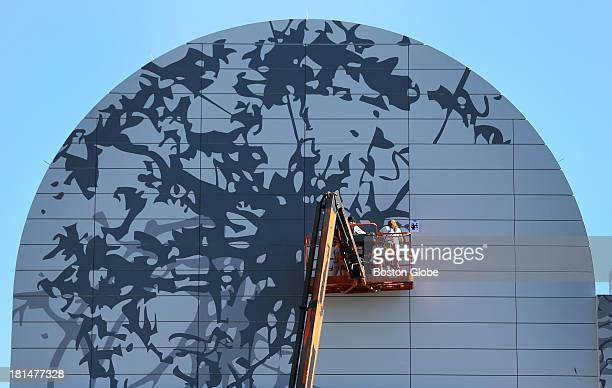 Tricia rose stock photos and pictures getty images for Dewey square mural
