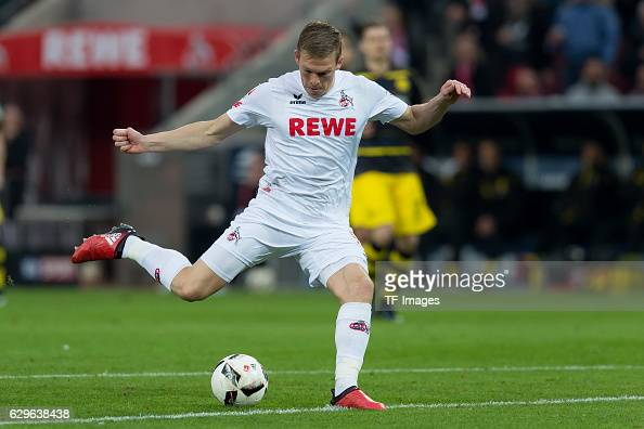 Artjoms Rudnevs of Cologne in action during the Bundesliga match between 1 FC Cologne and Borussia Dortmund at the RheinEnergie stadium in Cologne...