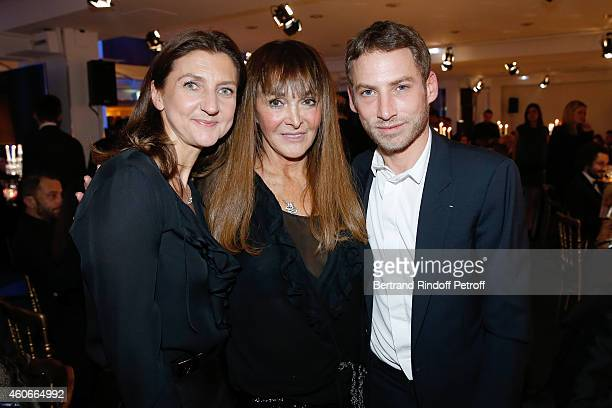 Arts Director of Longchamp Sophie Delafontaine Organizer of the dinner Babeth Djian and Ora Ito attend the Annual Charity Dinner hosted by the AEM...