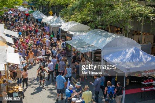 Arts Fair Festival in Bellevue, Washington